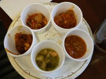 chili samples