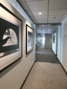 Hallway from Reception and Conference Welcome Center into LP Offices
